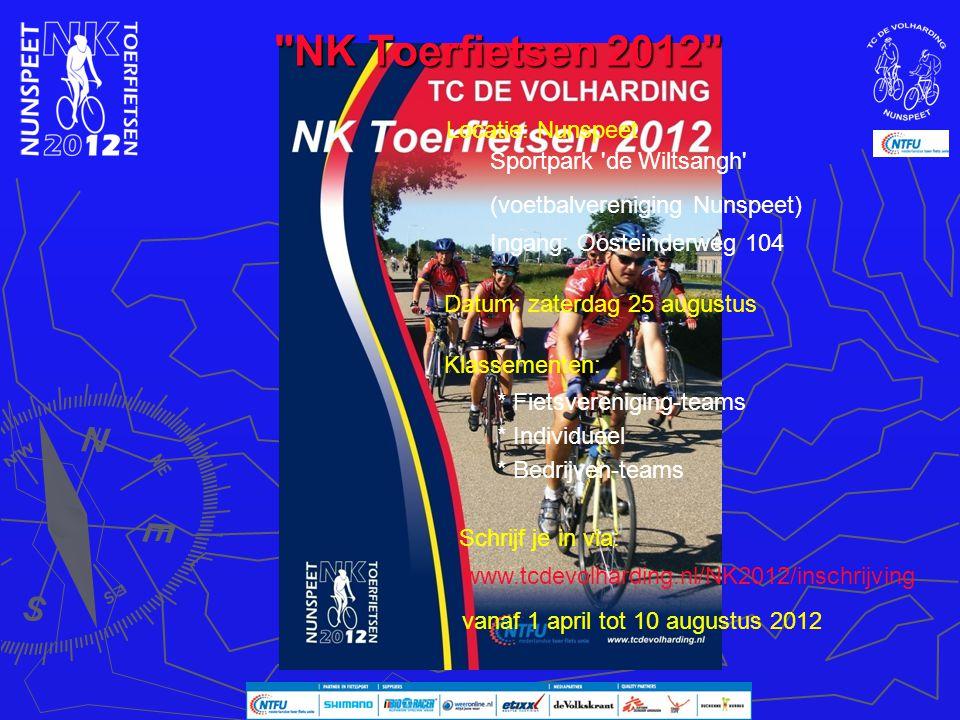 NK Toerfietsen 2012 Locatie: Nunspeet Sportpark de Wiltsangh