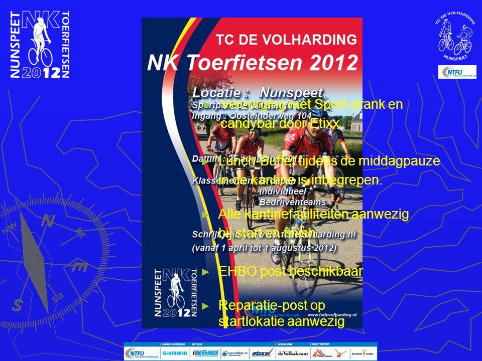 Verzorging Verzorging met Sport-drank en candybar door Etixx