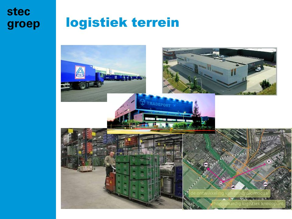 logistiek terrein