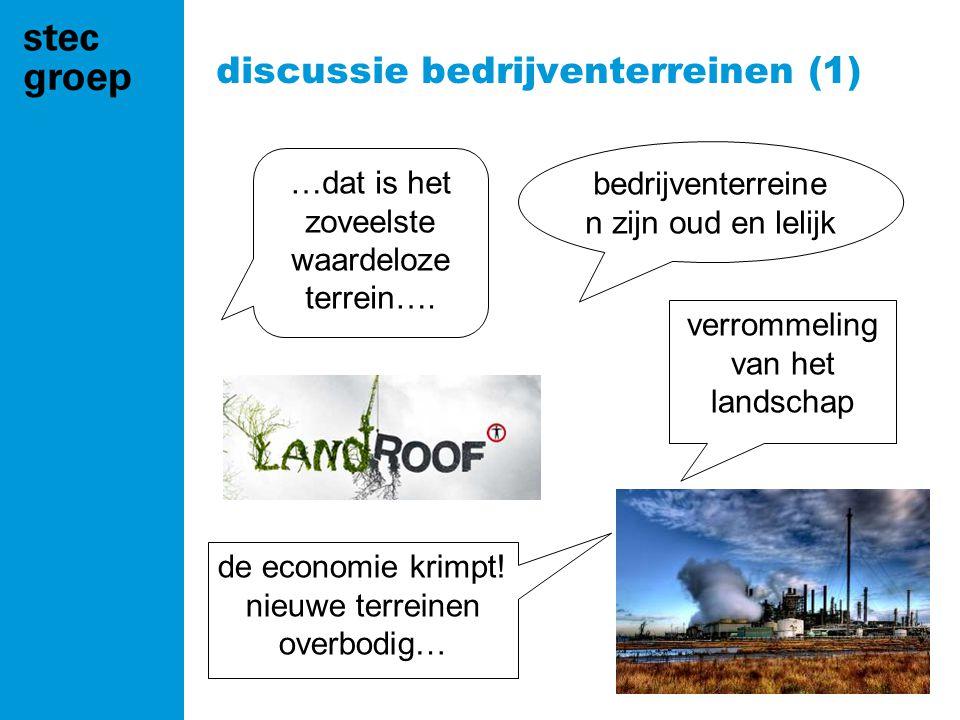 discussie bedrijventerreinen (1)