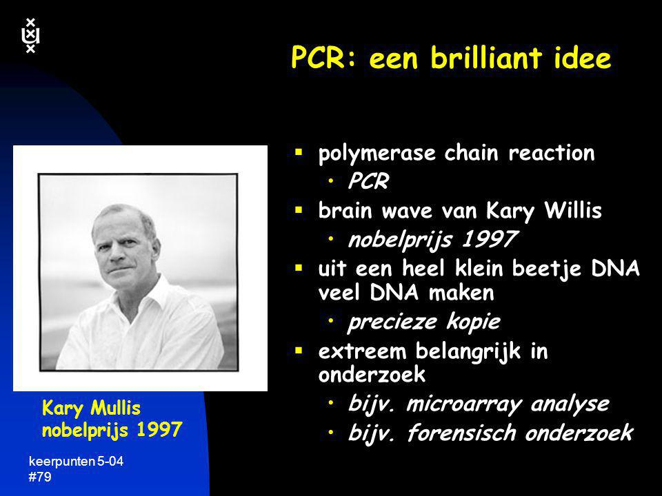 PCR: een brilliant idee