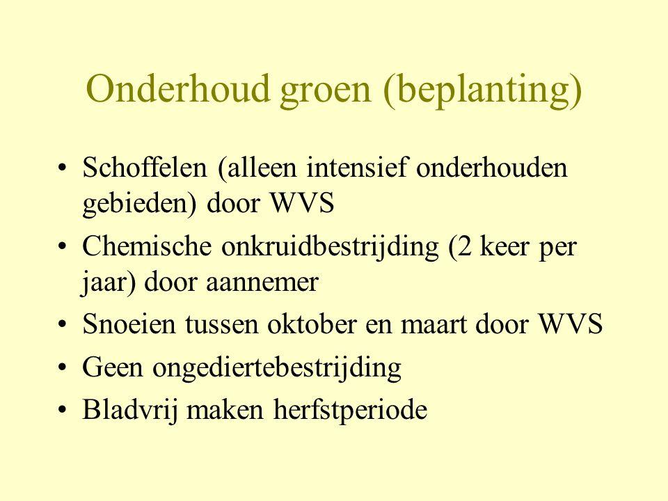 Onderhoud groen (beplanting)