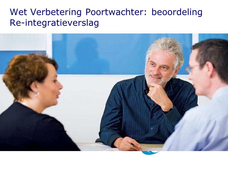 Wet Verbetering Poortwachter: beoordeling Re-integratieverslag