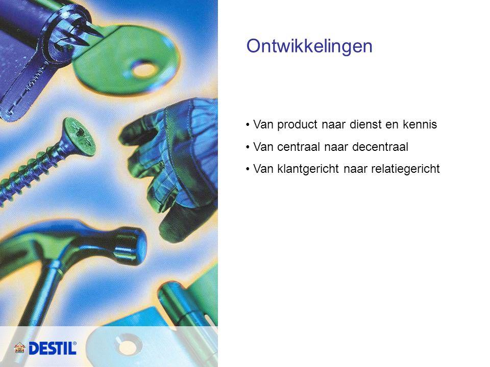 Ontwikkelingen Van product naar dienst en kennis