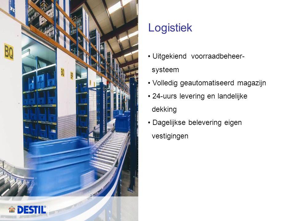 Logistiek Uitgekiend voorraadbeheer- systeem