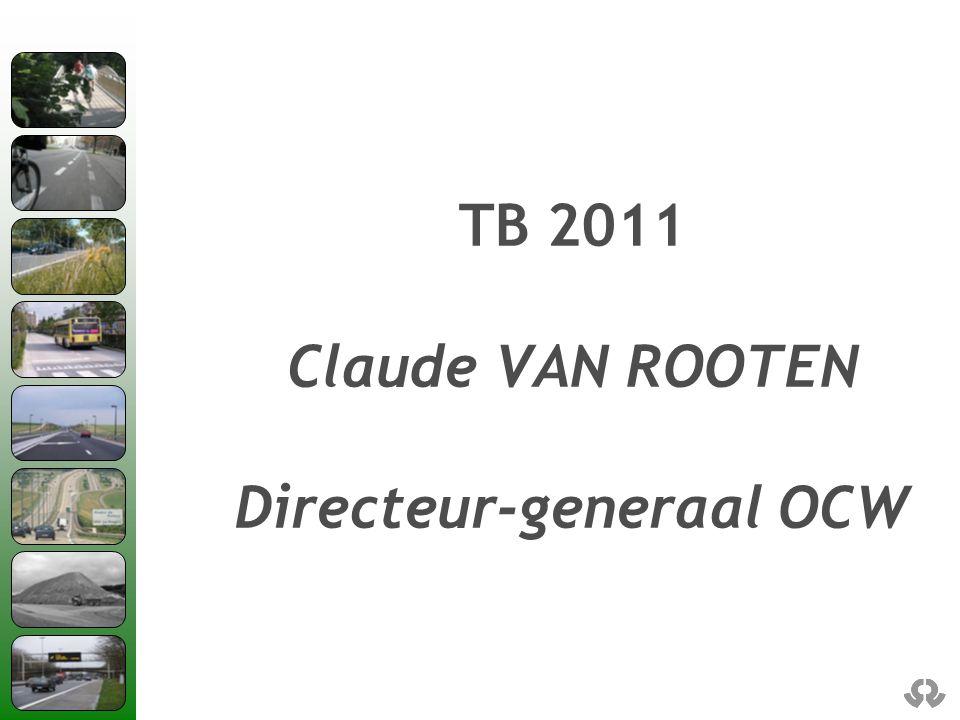 TB 2011 Claude VAN ROOTEN Directeur-generaal OCW