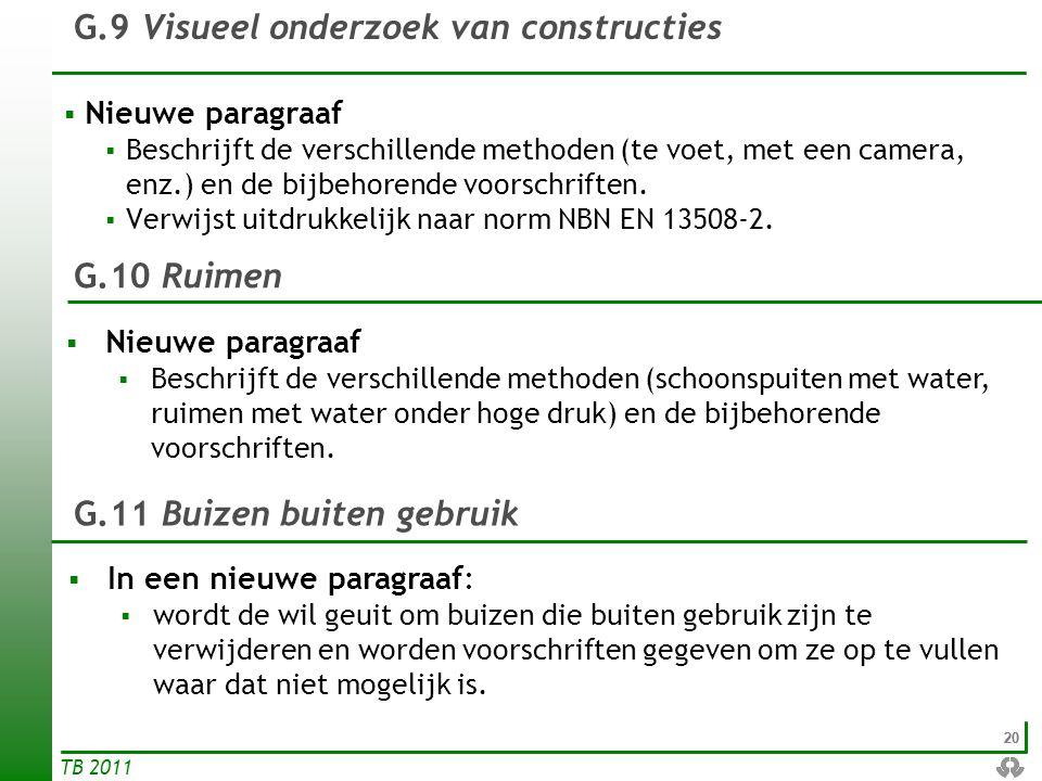 G.9 Visueel onderzoek van constructies