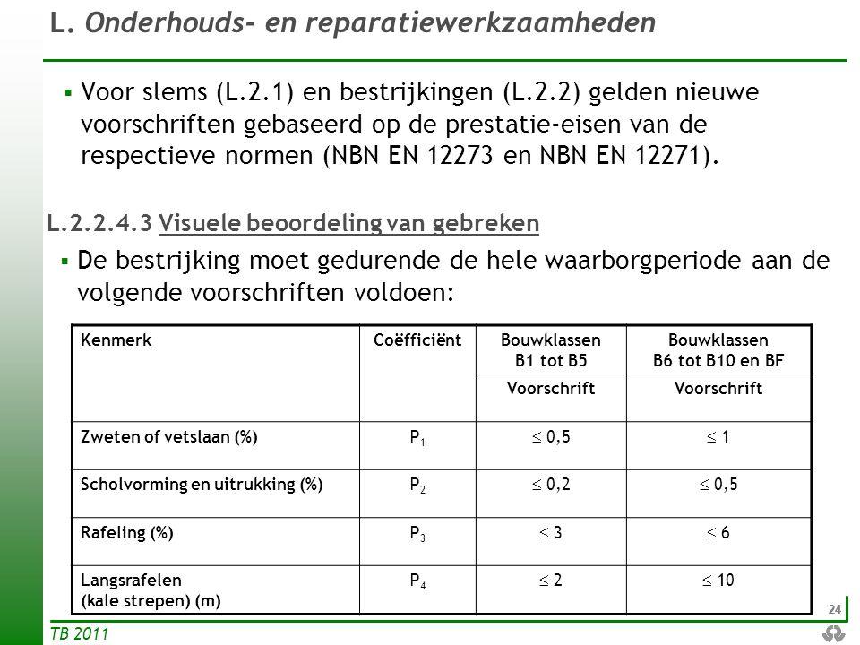 L.2.2.4.3 Visuele beoordeling van gebreken