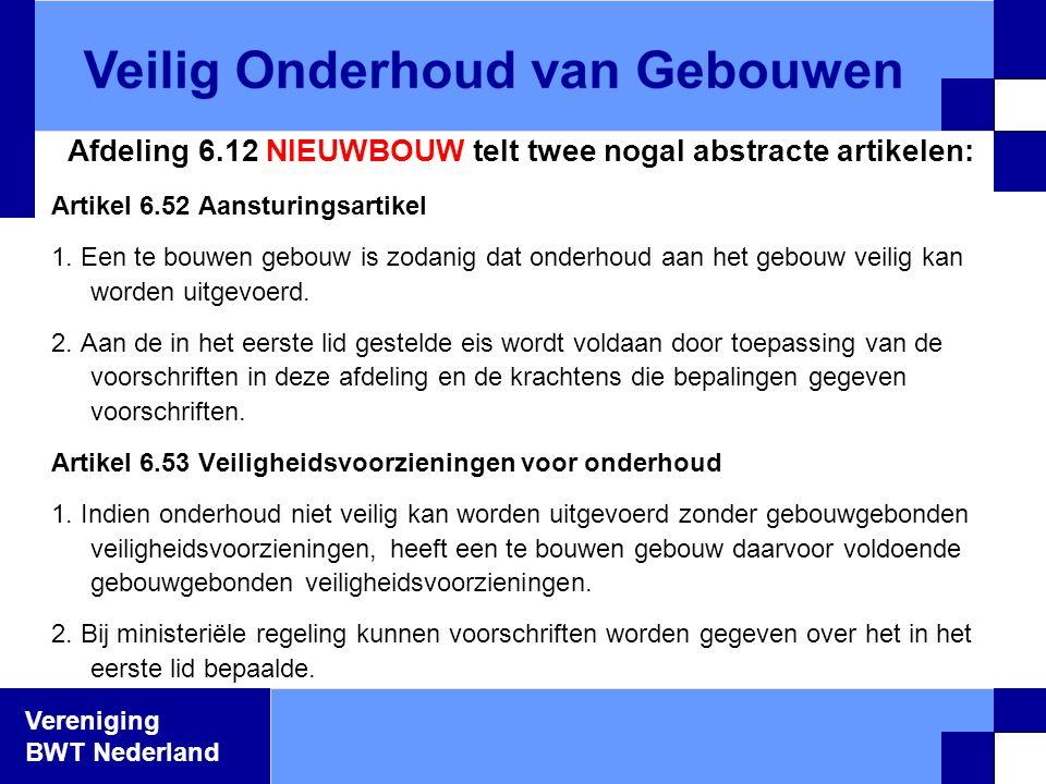 Afdeling 6.12 NIEUWBOUW telt twee nogal abstracte artikelen: