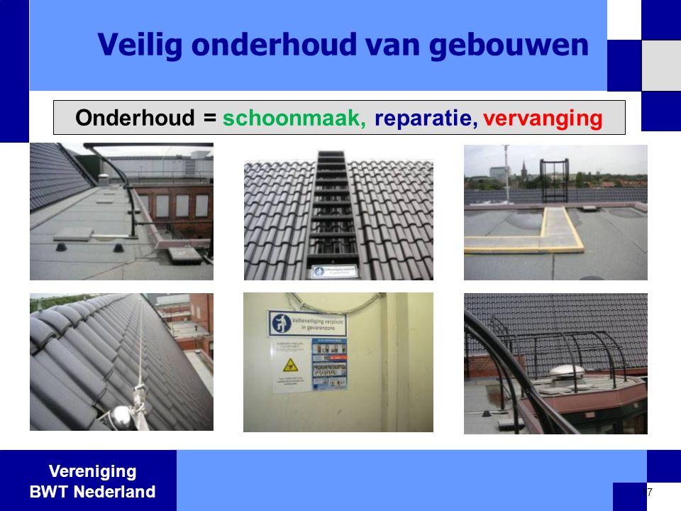 Veilig onderhoud van gebouwen