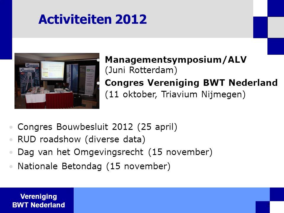 Activiteiten 2012 Managementsymposium/ALV (Juni Rotterdam)