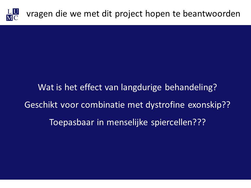 vragen die we met dit project hopen te beantwoorden