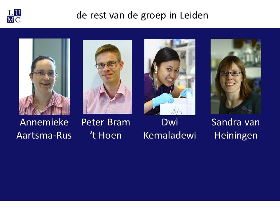 de rest van de groep in Leiden