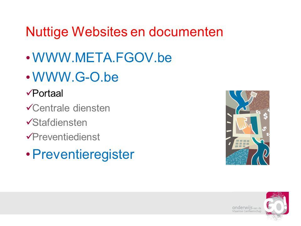 Nuttige Websites en documenten