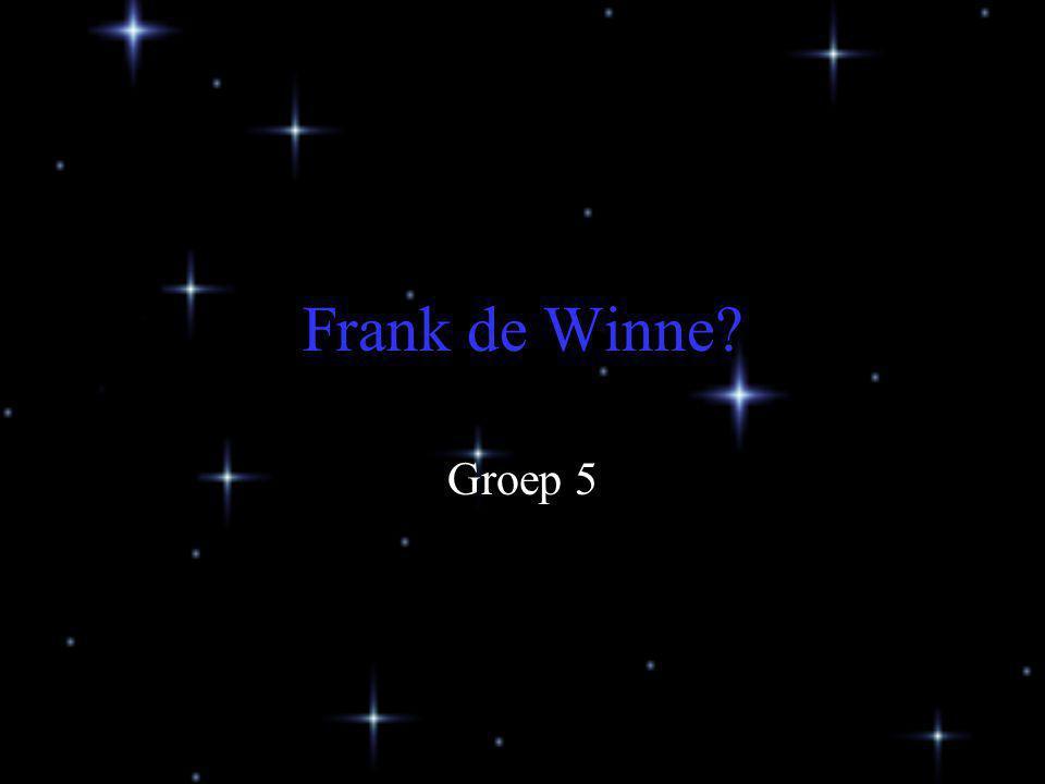 Frank de Winne Groep 5