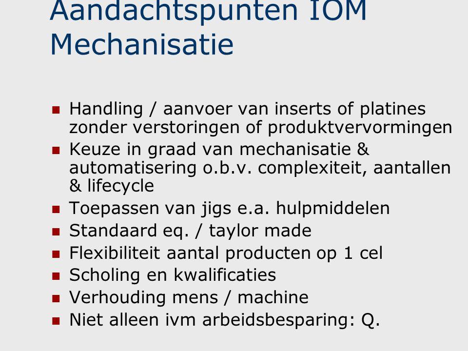 Aandachtspunten IOM Mechanisatie