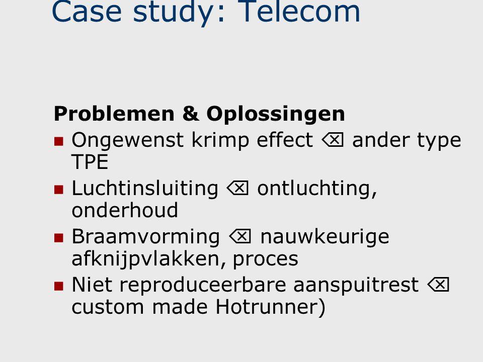 Case study: Telecom Problemen & Oplossingen