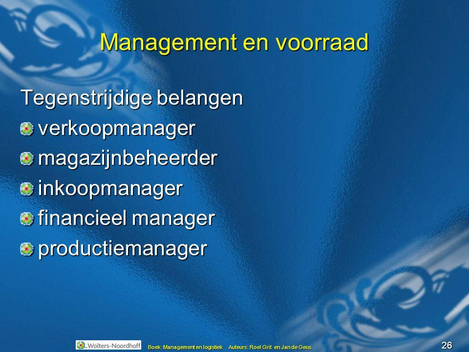 Management en voorraad