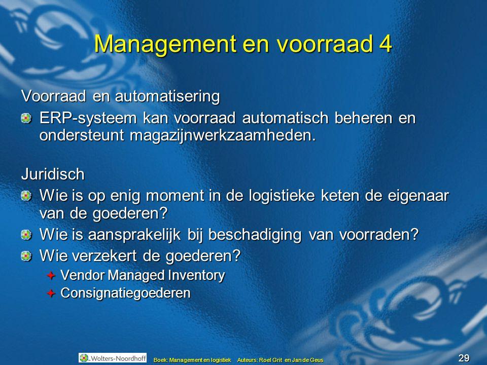 Management en voorraad 4