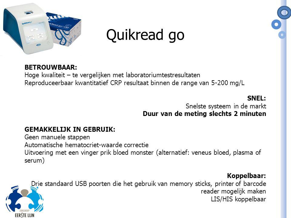 Quikread go BETROUWBAAR: