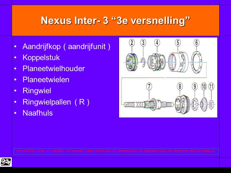 Nexus Inter- 3 3e versnelling