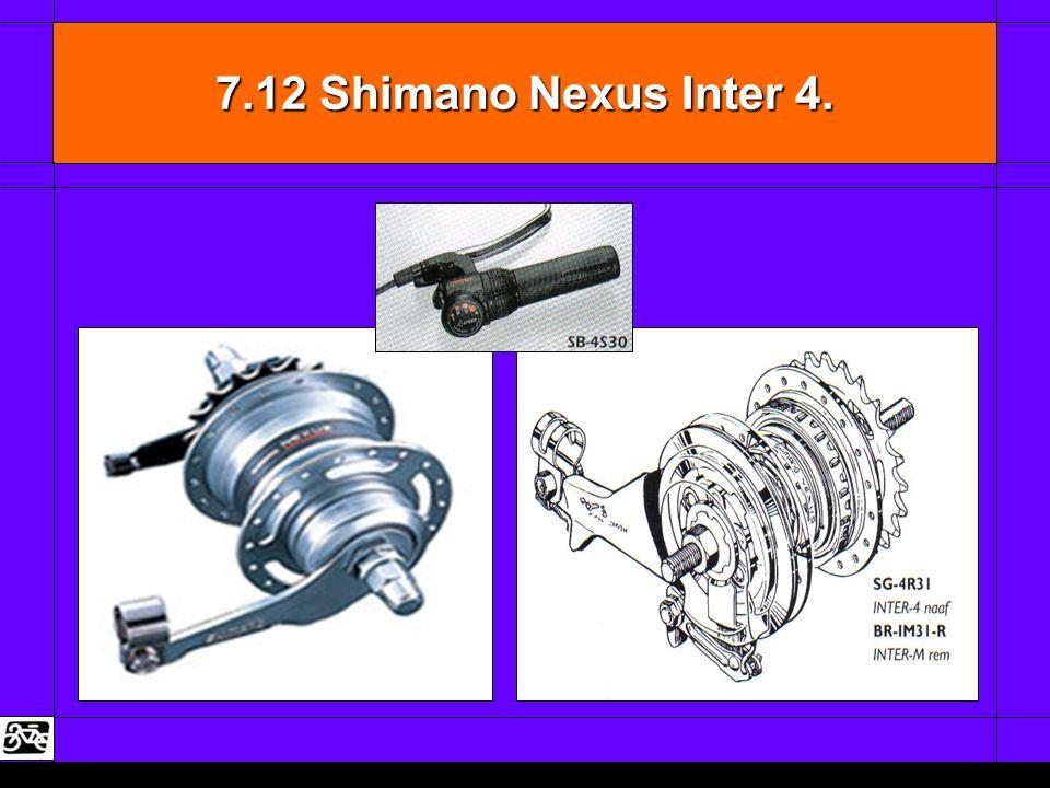 7.12 Shimano Nexus Inter 4.