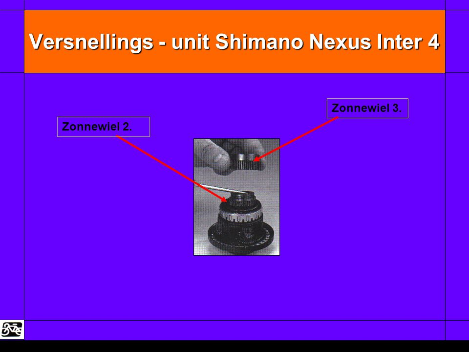 Versnellings - unit Shimano Nexus Inter 4