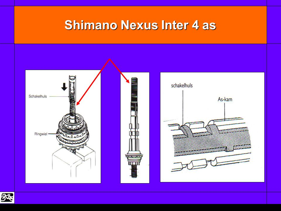 Shimano Nexus Inter 4 as