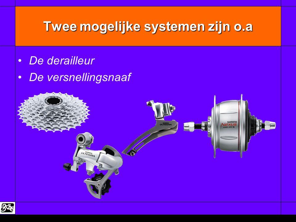 Twee mogelijke systemen zijn o.a