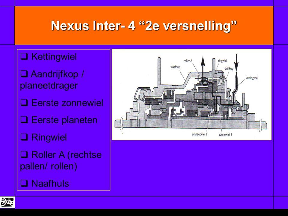 Nexus Inter- 4 2e versnelling