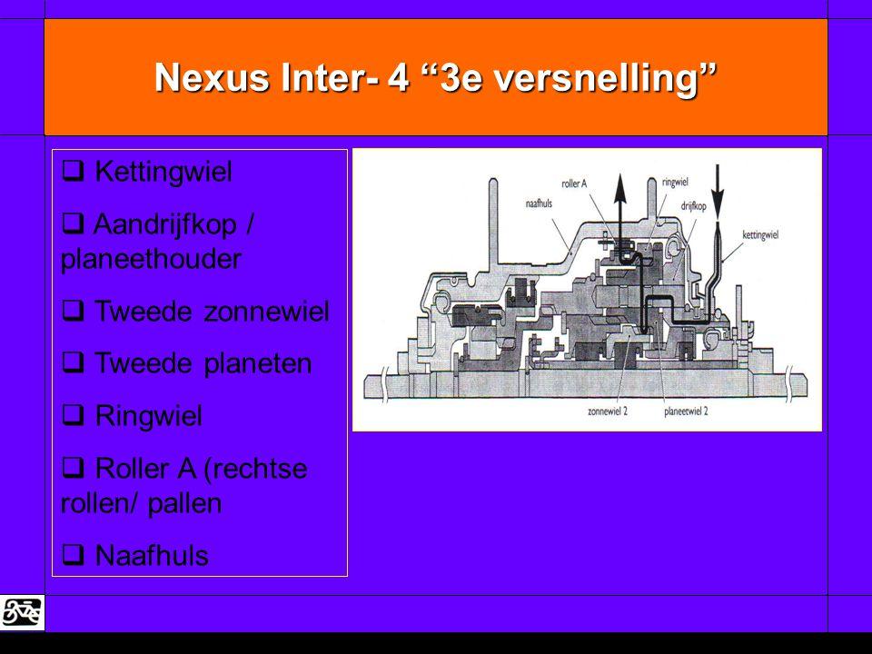 Nexus Inter- 4 3e versnelling