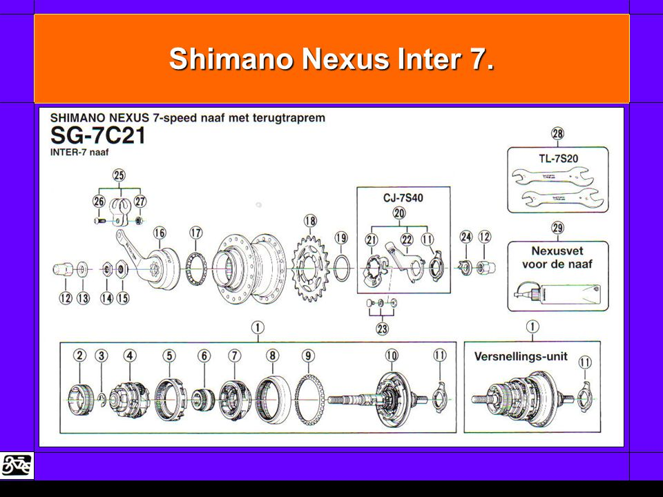 Shimano Nexus Inter 7.