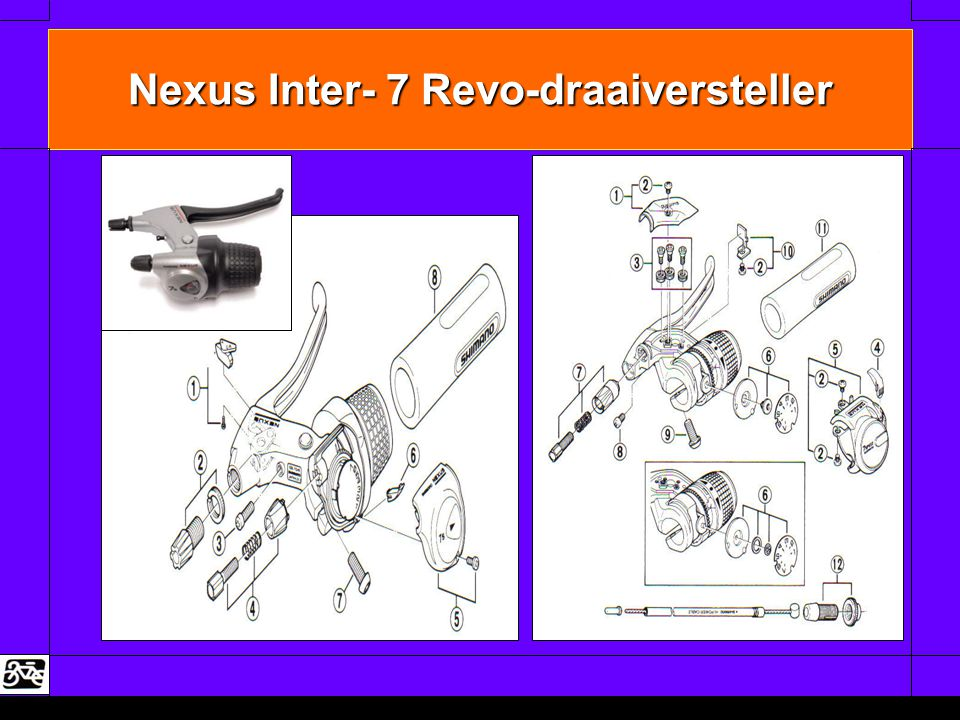 Nexus Inter- 7 Revo-draaiversteller