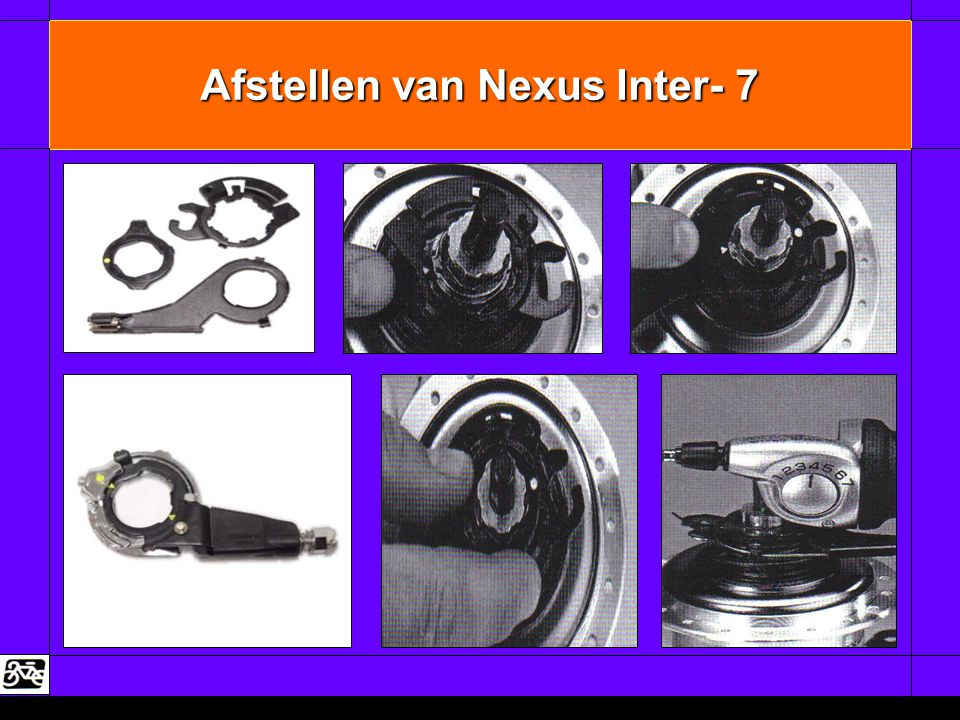 Afstellen van Nexus Inter- 7