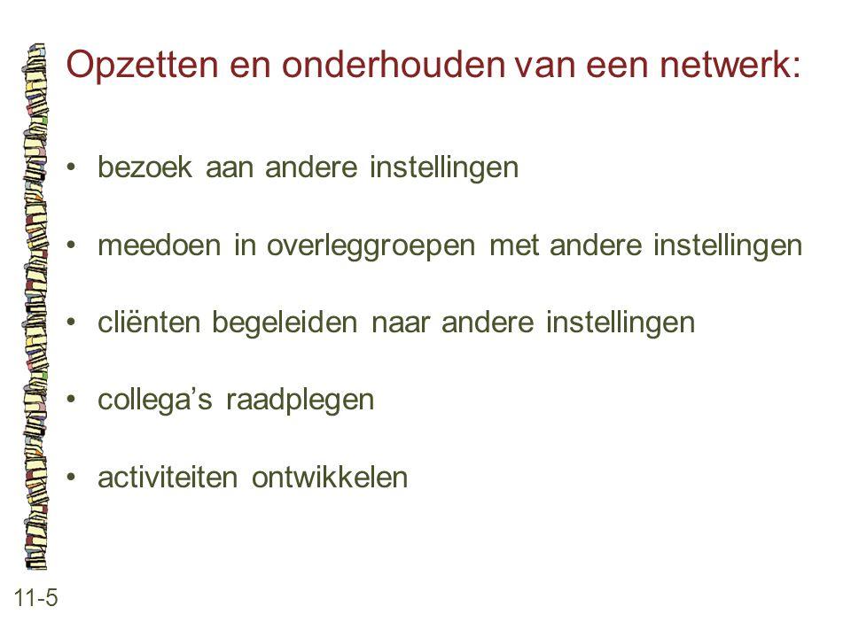 Opzetten en onderhouden van een netwerk: