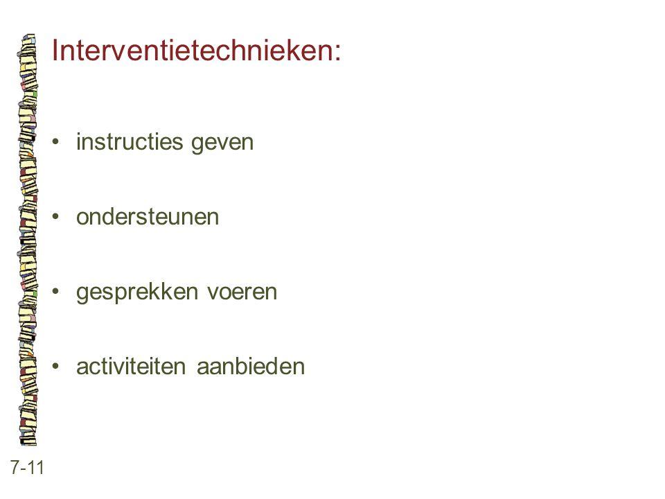 Interventietechnieken: