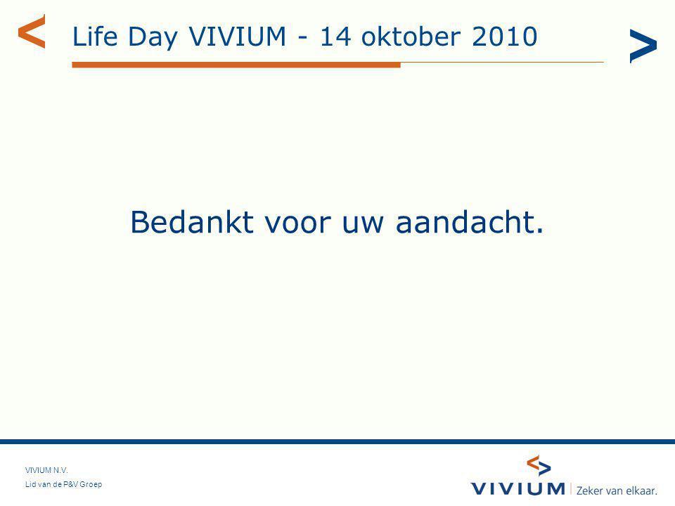 Life Day VIVIUM - 14 oktober 2010