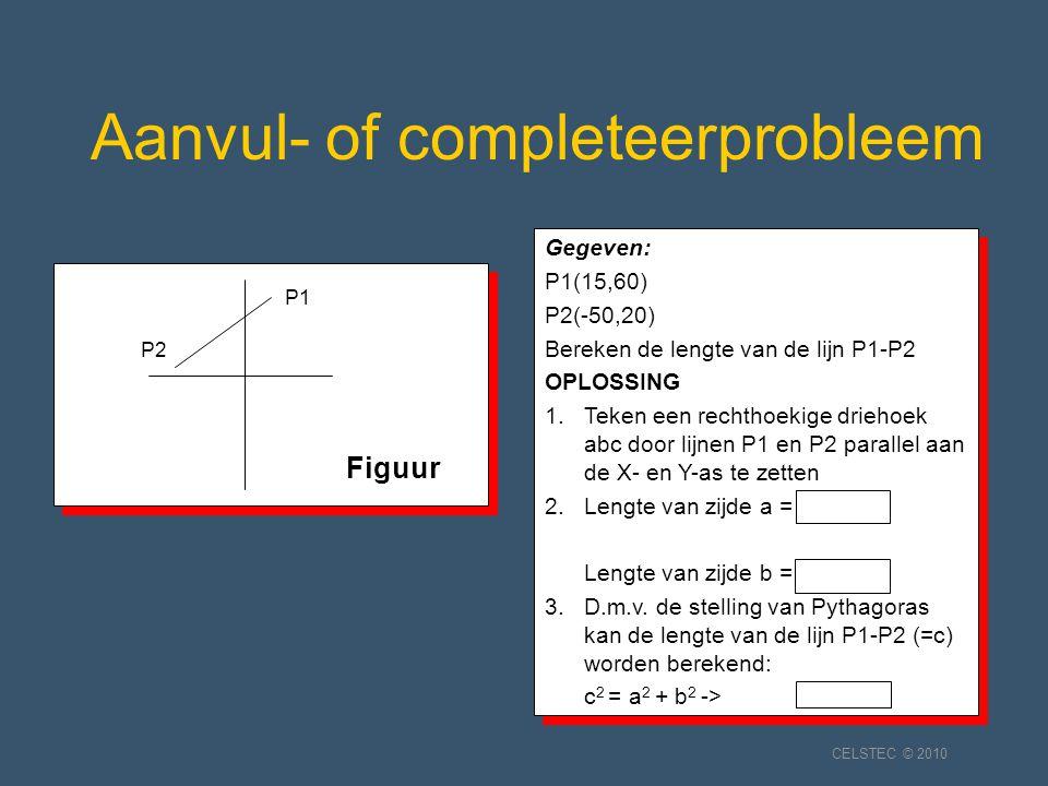 Aanvul- of completeerprobleem