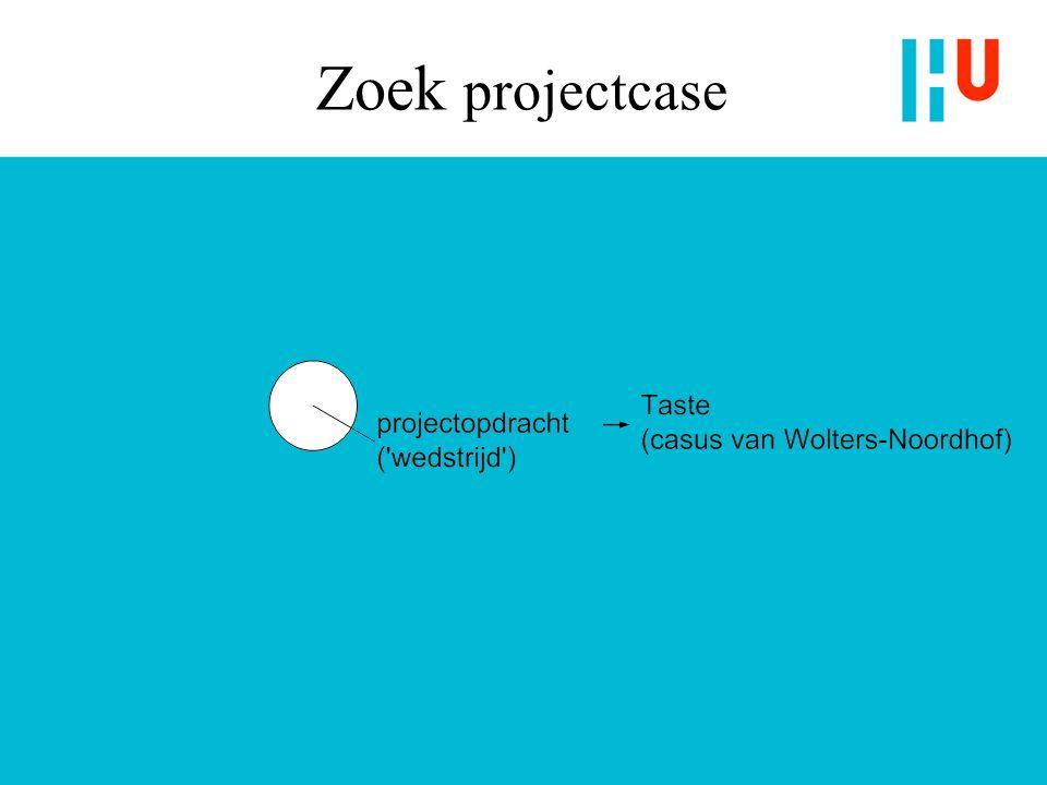 Zoek projectcase