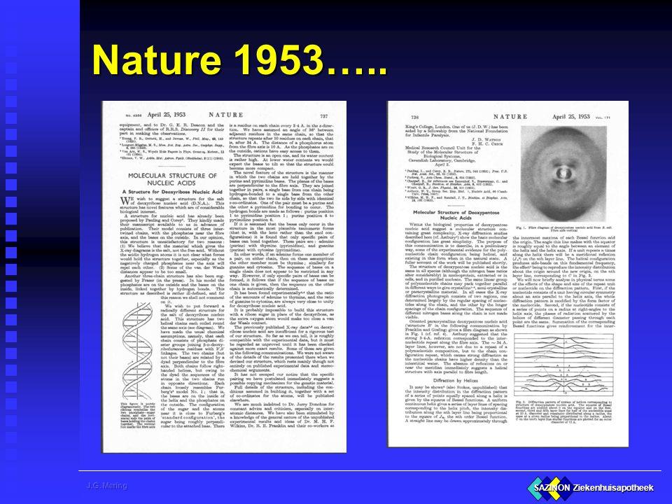Nature 1953…..