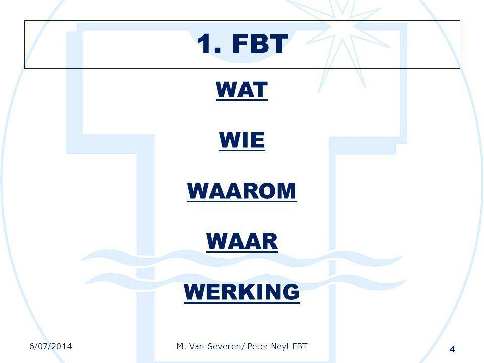 1. FBT WAT WIE WAAROM WAAR WERKING 4/04/2017