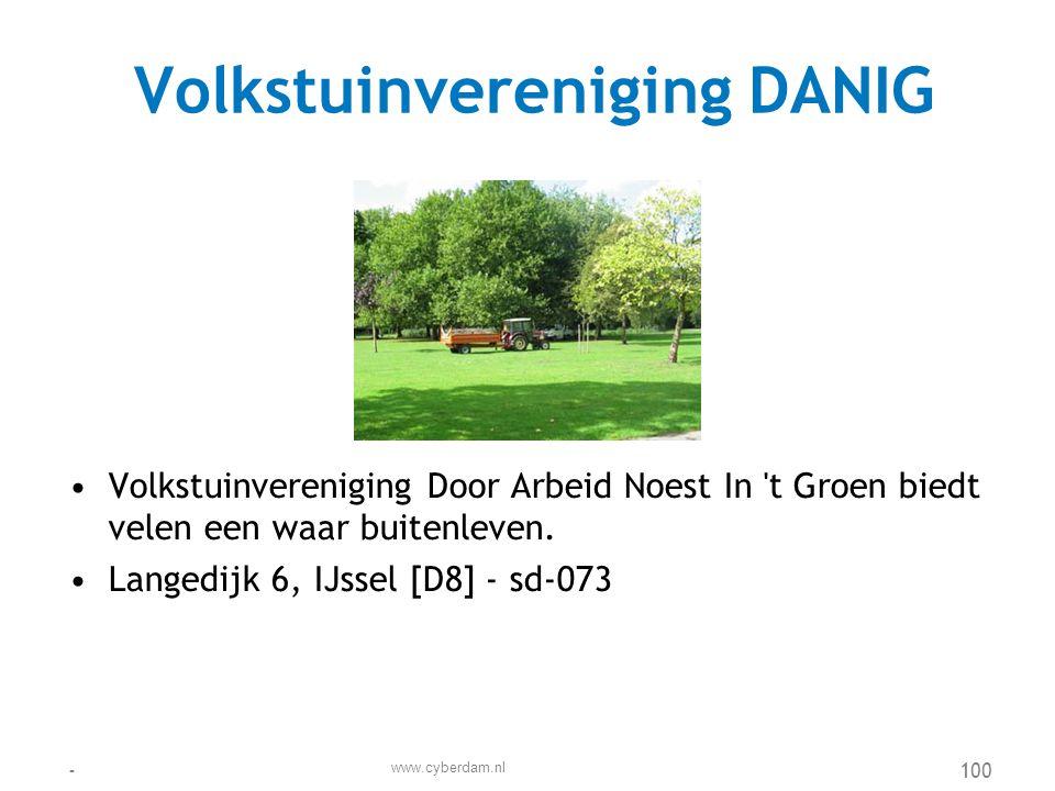 Volkstuinvereniging DANIG