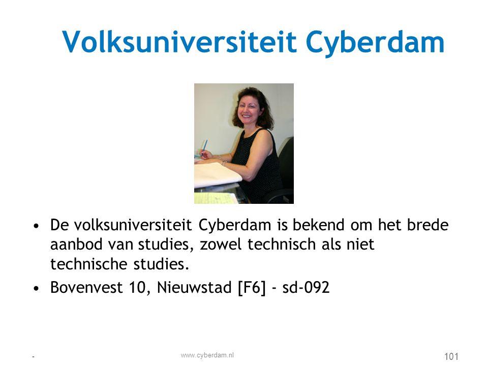 Volksuniversiteit Cyberdam
