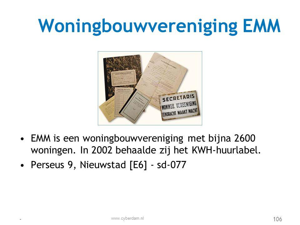 Woningbouwvereniging EMM