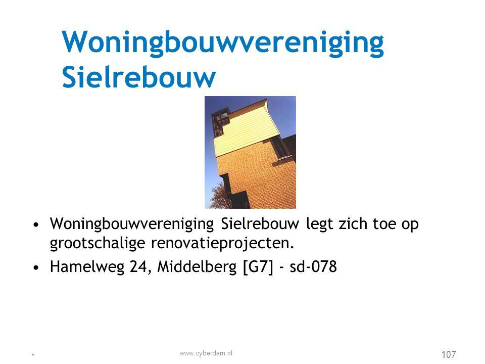 Woningbouwvereniging Sielrebouw