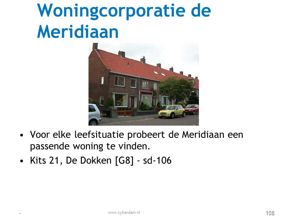 Woningcorporatie de Meridiaan