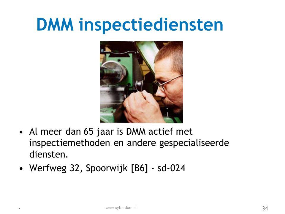 DMM inspectiediensten