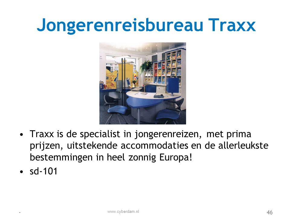 Jongerenreisbureau Traxx