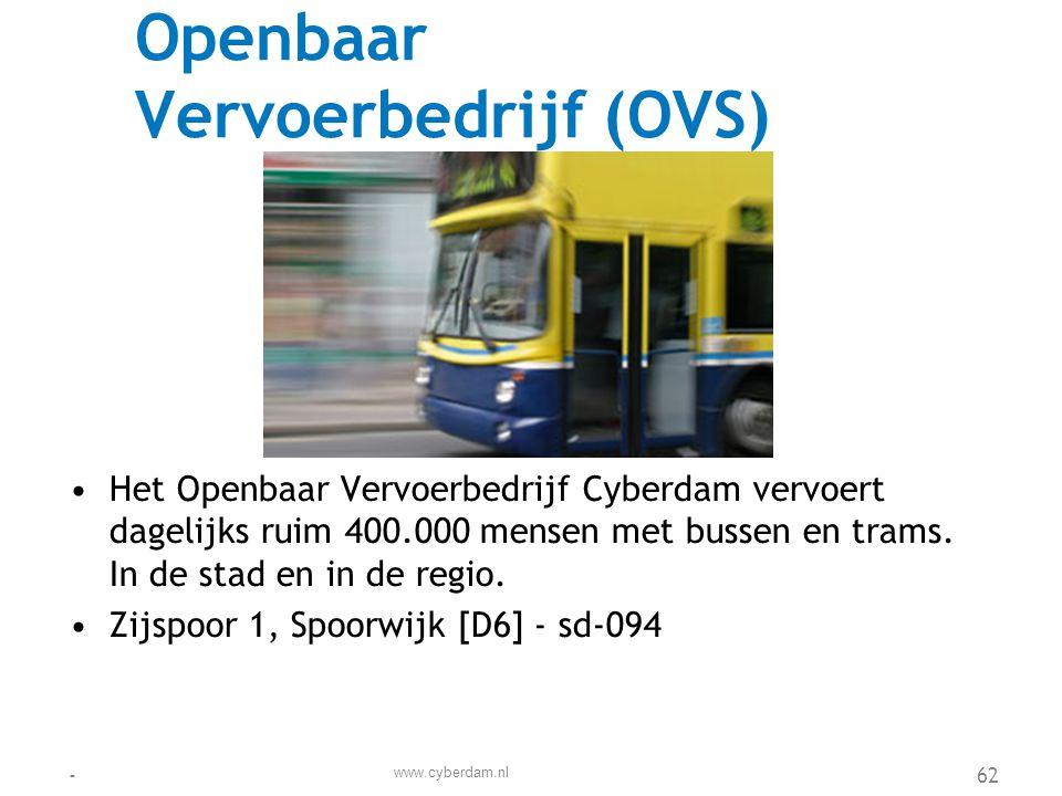 Openbaar Vervoerbedrijf (OVS)