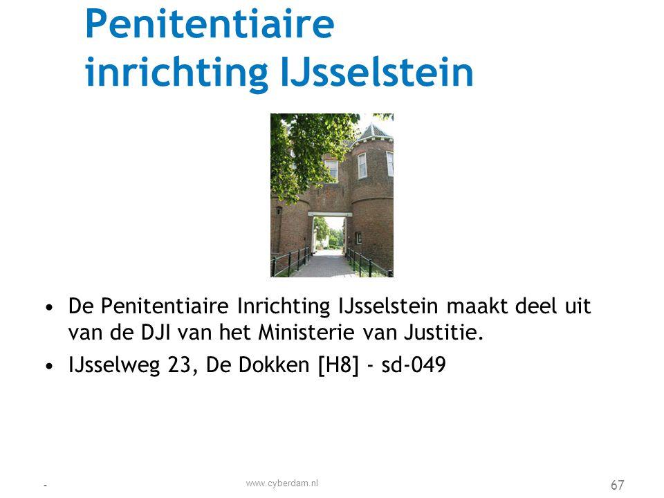 Penitentiaire inrichting IJsselstein